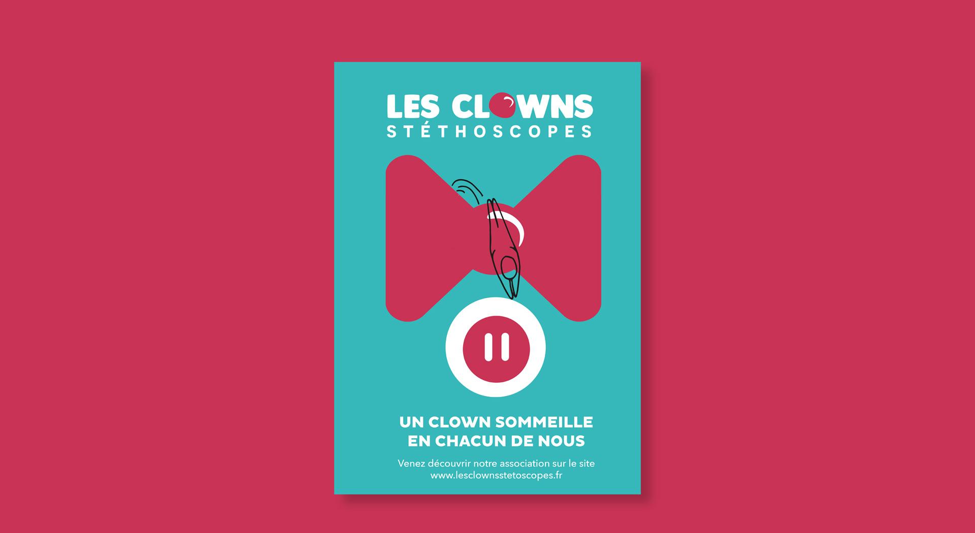 Affiche Les Clowns Stéthoscope2
