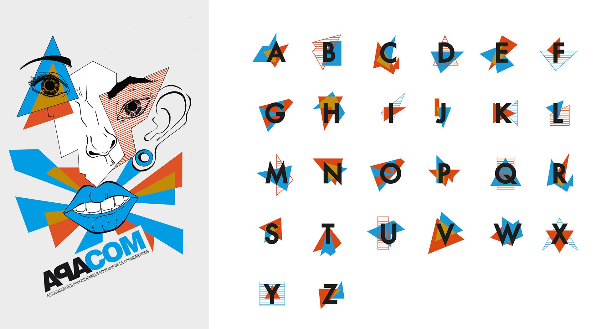 Couverture et alphabet APACOM 2016