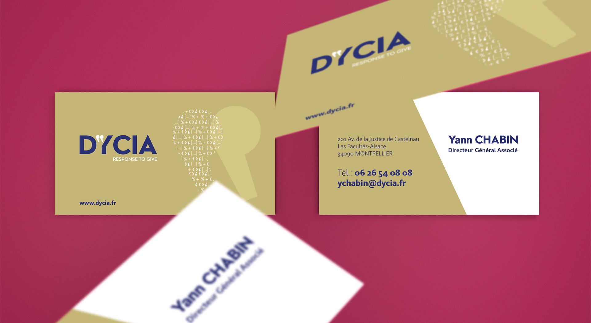 carte de visite - DYCIA