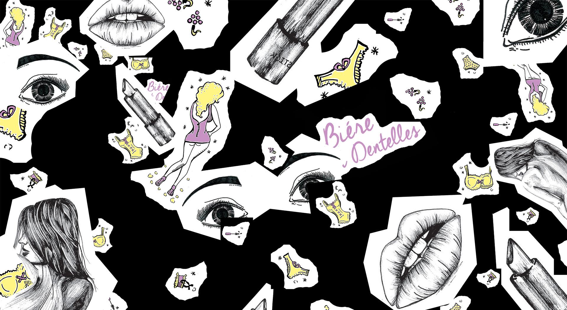 Illustrations en binôme pour une collection collector Desperados